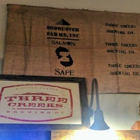 Photo taken at Three Creeks Brewing Co. by Scoreboard on 7/23/2017