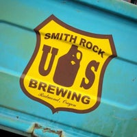 Photo taken at Smith Rock Brewing by Scoreboard on 2/24/2017