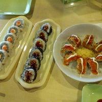 Photo taken at Takenoko Sushi Ketos by Imam R. on 12/19/2012