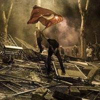 7/14/2013 tarihinde Son ツziyaretçi tarafından Taksim Gezi Parkı'de çekilen fotoğraf