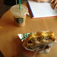 Photo taken at Starbucks by Mei I. on 2/4/2013
