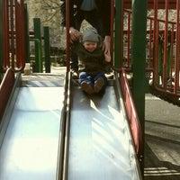 Photo taken at Rudin Family Playground by Veronika V. on 3/20/2016