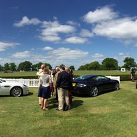 Photo taken at Royal Berkshire Polo Club by Darryl H. on 5/14/2016