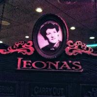 Photo taken at Leona's by Leonard W. on 8/22/2013
