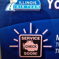 Photo taken at Illinois Air Team - Emissions Testing Station by Leonard W. on 8/15/2013
