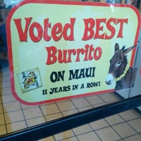 Photo taken at Maui Tacos by Mike C. on 12/12/2012