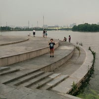 Photo taken at Qing Yang Gang Park by Mike C. on 7/25/2014