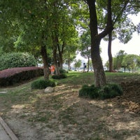 Photo taken at Qing Yang Gang Park by Mike C. on 9/13/2015
