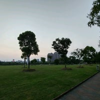 Photo taken at Qing Yang Gang Park by Mike C. on 8/16/2016