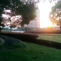 Photo taken at Qing Yang Gang Park by Mike C. on 7/30/2014