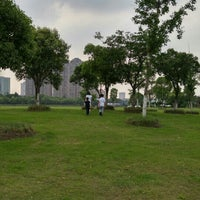 Photo taken at Qing Yang Gang Park by Mike C. on 6/5/2016