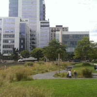 Photo taken at Tanner Springs Park by Mike C. on 6/17/2013