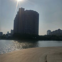 Photo taken at Qing Yang Gang Park by Mike C. on 7/30/2016
