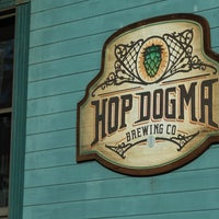 Photo taken at Hop Dogma Brewing Co. by Chris on 9/25/2017