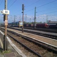 Photo taken at Ferencváros vasútállomás by Istvan V. on 9/15/2012