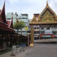 Photo taken at Wat Thep Leela by Pakorn P. on 5/12/2013
