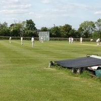 Photo taken at Soulbury Cricket Club by Erika C. on 6/2/2013