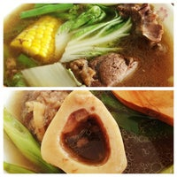 Photo taken at Dumbay Goto And Bulalo by Angela F. on 6/23/2013