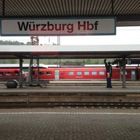 Photo taken at Würzburg Hauptbahnhof by Taro M. on 5/2/2013