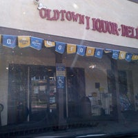 Photo taken at Old Town Liquor & Deli by Jesse R. on 8/9/2013