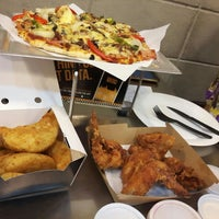 Photo taken at Yellow Cab Pizza Co. by Rod Aldrin Sebastian T. on 4/14/2016