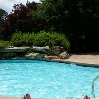 Photo taken at The P@V Pool by Kindra S. on 6/8/2014