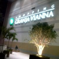 Photo taken at Shopping Granja Vianna by Sérgio B. on 4/9/2013