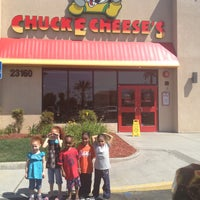 Photo taken at Chuck E. Cheese's by Madam B on 4/21/2013