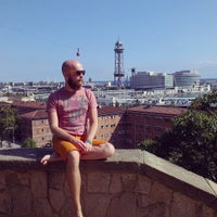 Photo taken at Parc de Bombers de Montjuïc by Alexander S. on 10/8/2013