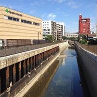 Photo taken at 定塚橋 by tarawo on 9/28/2013