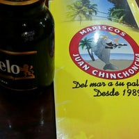 Photo taken at Restaurant de Mariscos 'Juan Chinchoncha' by Gibran F. on 10/8/2015