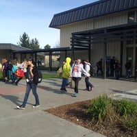 Photo taken at Zane Middle School by Theo Z. on 12/7/2012