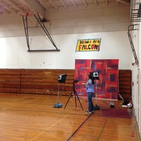 Photo taken at Zane Middle School by Theo Z. on 11/9/2012