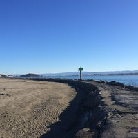 Photo taken at North Jetty by Theo Z. on 10/3/2014