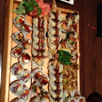 Photo taken at I Love Sushi by Jamie G. on 3/15/2013