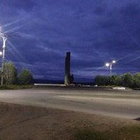 Photo taken at Памятник защитникам Заполярья by Анастасия П. on 8/24/2014