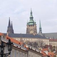 Photo taken at Malostranské náměstí by Tanya L. on 11/19/2012