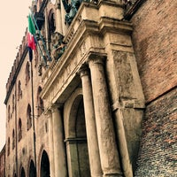Photo taken at Palazzo d'Accursio - Palazzo Comunale by Roberto M. on 5/21/2013