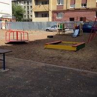 Photo taken at Детская площадка на Толбухина by Leisan K. on 6/18/2014