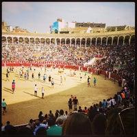 Photo taken at Plaza De Toros Albacete by Luis A. on 9/9/2014
