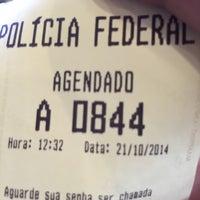 Photo taken at Posto Passaportes - Polícia Federal by Thales S. on 10/21/2014