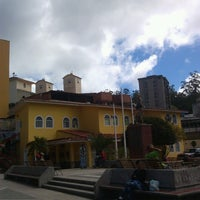 Photo taken at Plaza Bolívar by Jhon B. on 1/10/2014