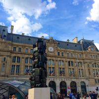 Photo taken at Paris Saint-Lazare Railway Station by MikaelDorian on 8/17/2014