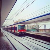 Photo taken at RER Arcueil – Cachan [B] by MikaelDorian on 1/27/2013
