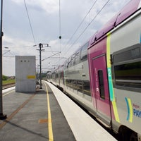 Photo taken at Gare SNCF de Sillé-le-Guillaume by MikaelDorian on 5/7/2017