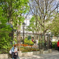 Photo taken at Place des Abbesses by MikaelDorian on 4/14/2017