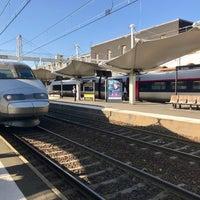 Photo taken at Gare SNCF du Mans by MikaelDorian on 10/15/2017
