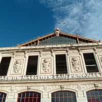 Photo taken at Marseille Saint-Charles Railway Station by MikaelDorian on 12/28/2012