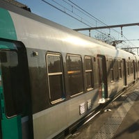 Photo taken at RER Arcueil – Cachan [B] by MikaelDorian on 12/28/2015