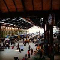 Photo taken at Paris Lyon Railway Station by MikaelDorian on 1/17/2013